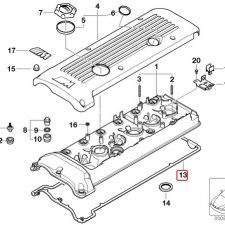 S54 Rocker Cover Gasket