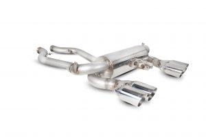 Scorpion Exhausts Half-System (E90/E92 M3)