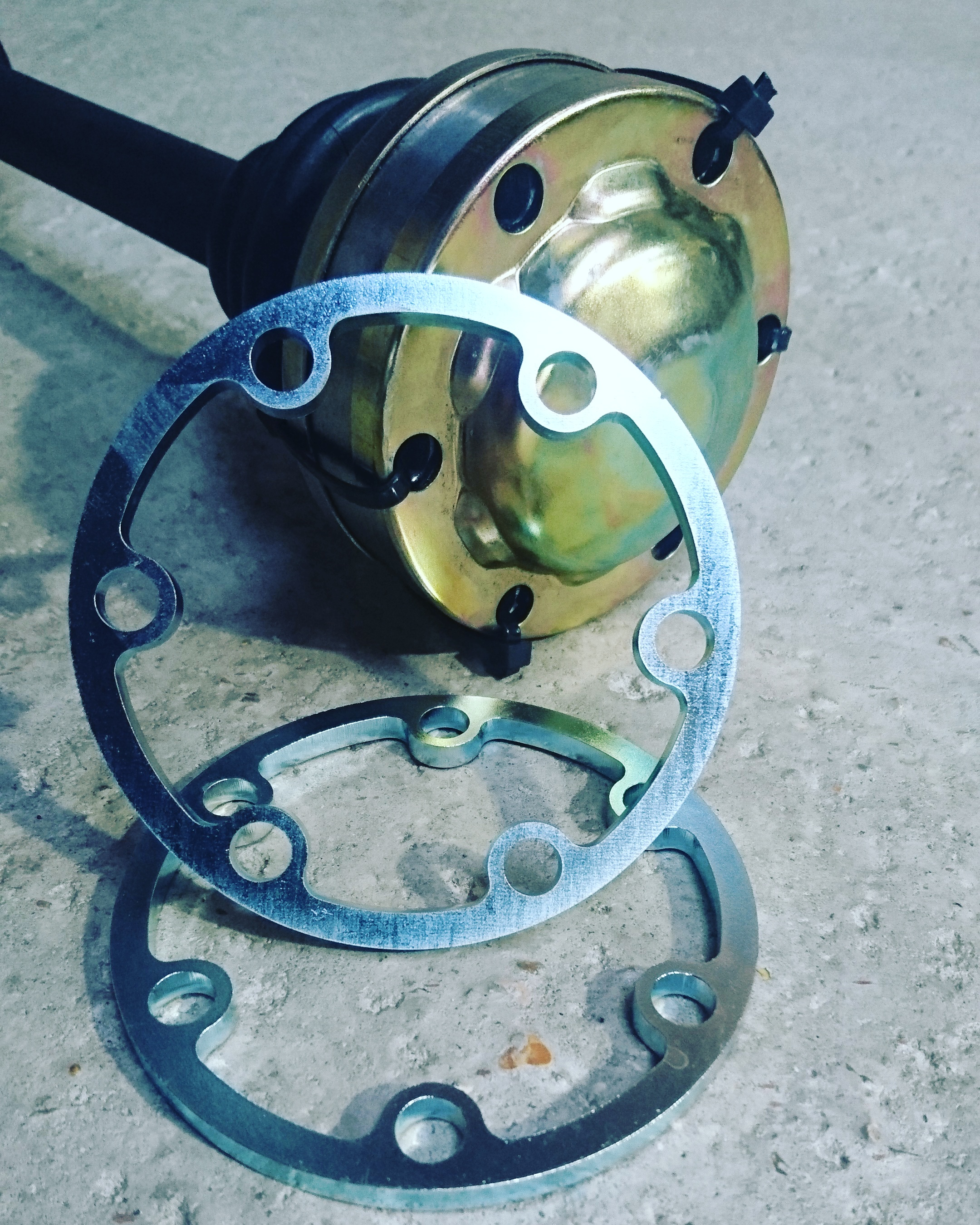 Hack Engineering Driveshaft Spacers (E36 M3/E46 M3)