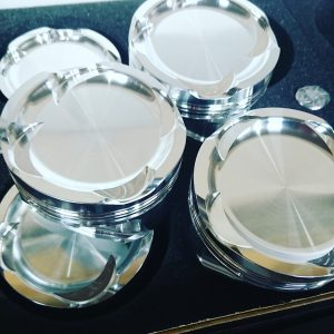 CP-Carrillo 9.5:1 3.3-litre piston set (S50B32)
