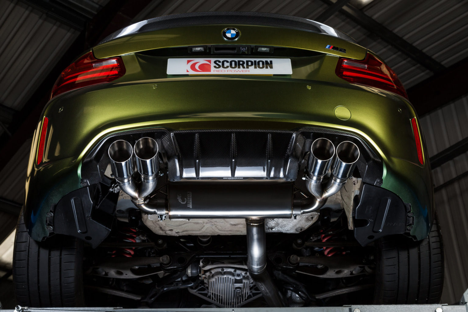Scorpion Exhausts Cat-Back Exhaust System (F87 M2)