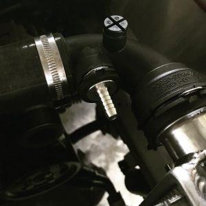 K.E.D Billet Coolant Expansion Hose Fitting (E46 M3)