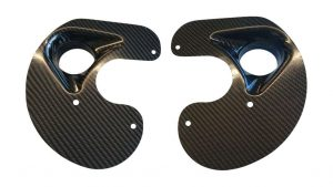 Burkhart Engineering Carbon Fibre Brake Backing Plates (E36 inc M3)