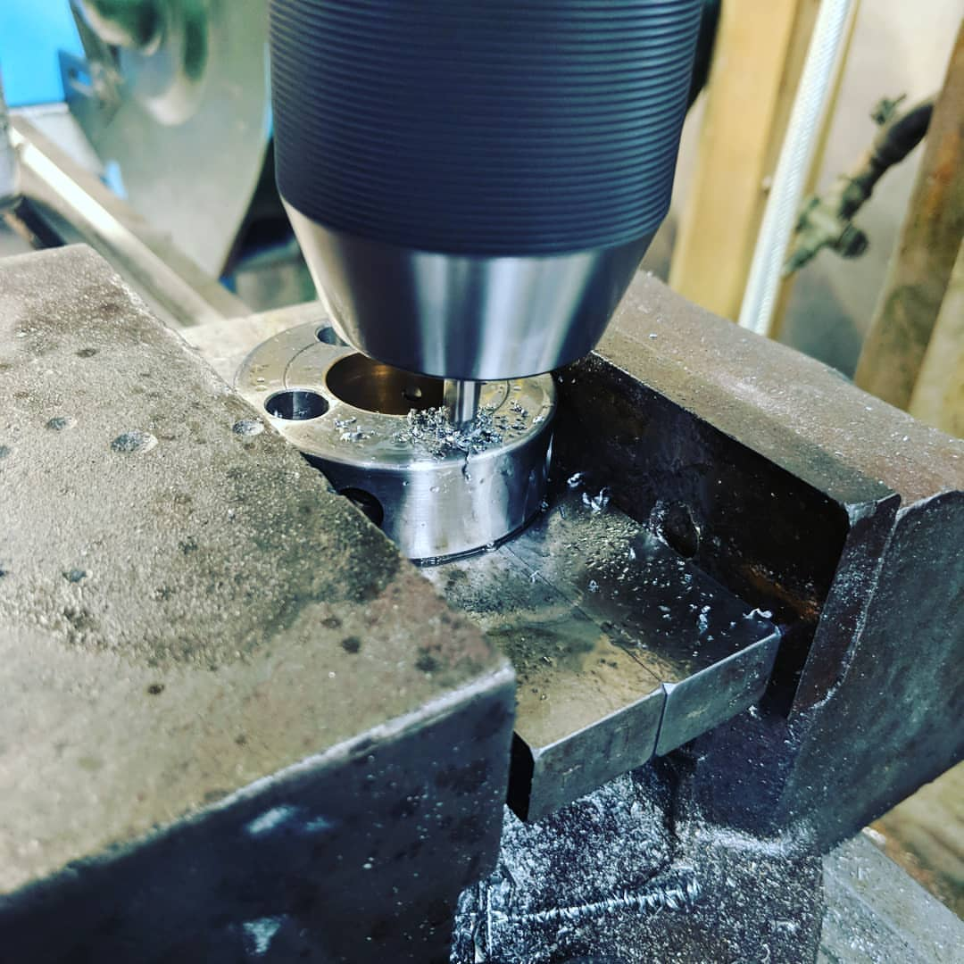 Hack Engineering Vanos Oil Pump Disc Machining Service (S54)