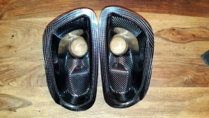 Burkhart Engineering Carbon Fibre Brake Duct Intakes (E46 M3)