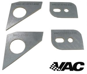 VAC Motorsports Front Subframe Reinforcement Set (E30 inc M3)