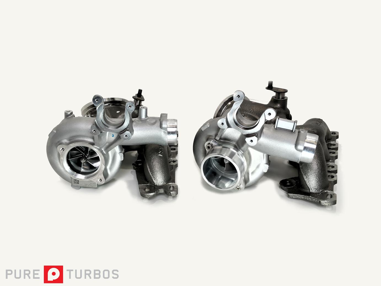 Pure Turbos Stage 2+ Upgrade Turbos (S55)