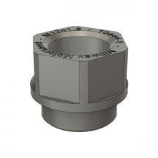 Millway Motorsport Damper Nut for Uniball Camber Plates - M12x1.5 (F2X/F3X/F8X 1/2/3/4 Series inc M)
