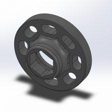 KED Crank Hub Capture Plate (N55/S55)