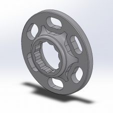 KED Crank Bolt Capture Plate (N54)