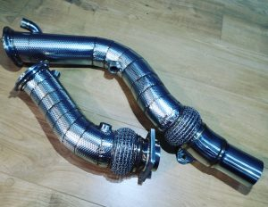 Hack Engineering V2 Catless Downpipes (F8X M2C/M3/M4)