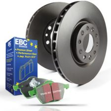 EBC GreenStuff Pad and Disc Kit (E46 330i/330d)