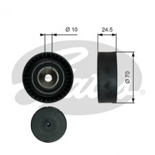 Gates Aux Belt Idler Pulley (most BMW 24V engines)