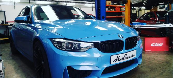 Video: Monky London's F80 M3 Gets Suspension Goodies