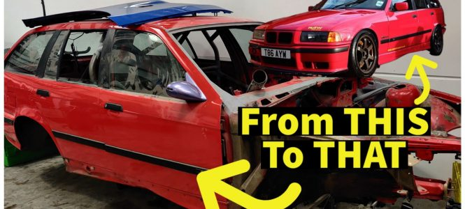 Video: The Start Of Hack Engineering - Ben's E36 Touring Episode 1