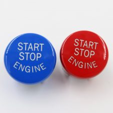 Red/Blue BMW Engine Start Stop Button (F Series)