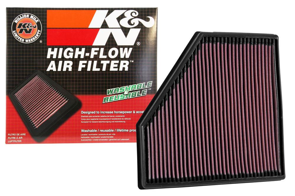 K&N Performance Panel Filter (F2X M140i/M240i, F3X 340i/440i)