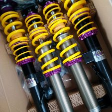 KW Competition 2-way Coilovers, including topmounts (E36 inc M3)