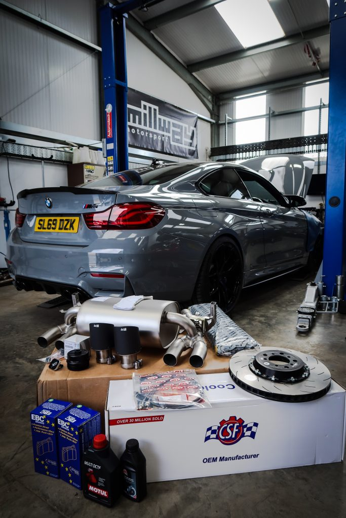 Workshop Journal: Paul's F82 M4 Competition