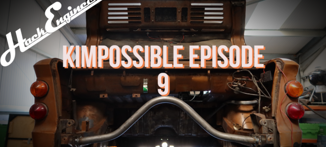 Video: Mission K-IMPossible Episode 9 - Rear Engine Mount Fabrication