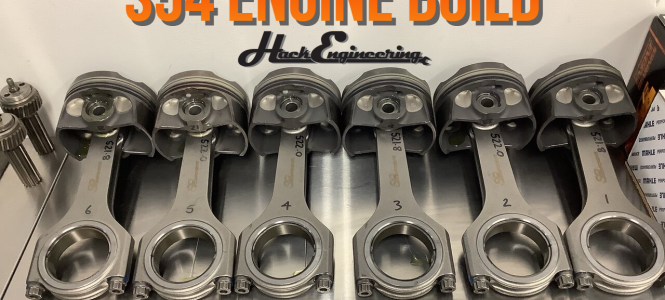 Video: Forged S54B33 Race Engine Build Timelapse