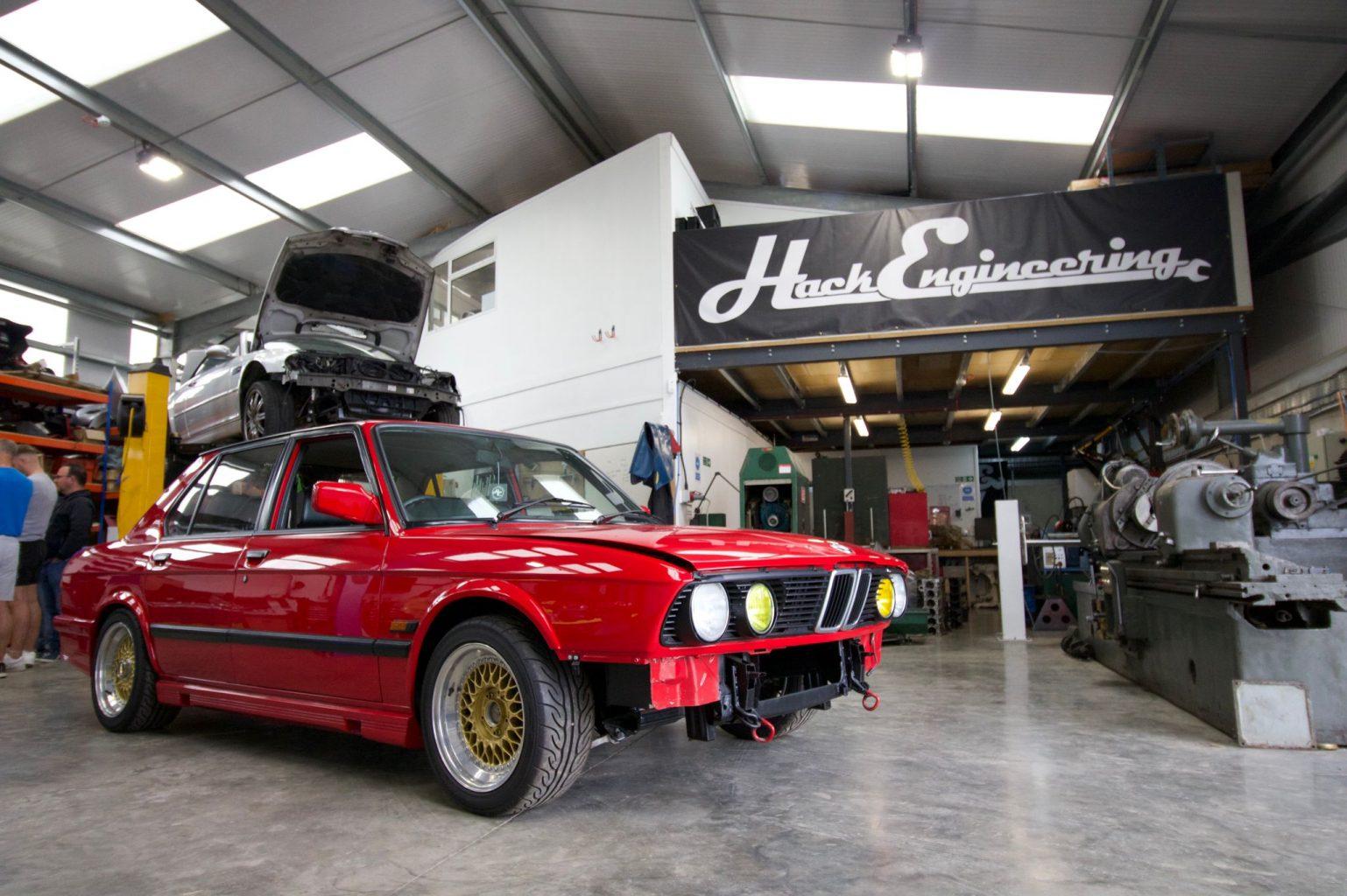 BMW Car Club GB Visit Hack Engineering