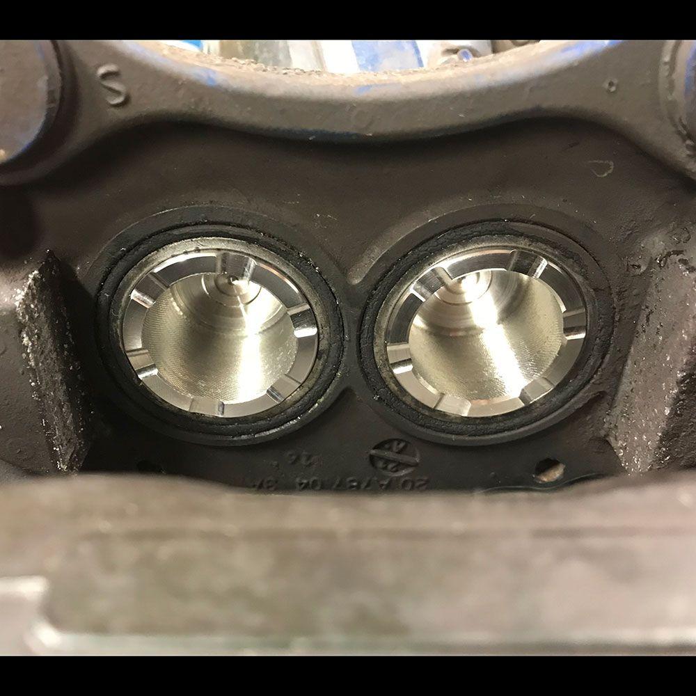 Millway Motorsport Stainless Steel Brake Pistons (F2X M135i/M235i/M140i/M240i, F8X M2/M3/M4)